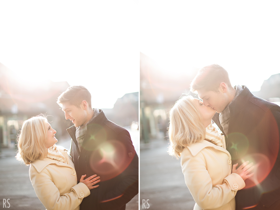 birmingham michigan engagement photography, detroit wedding photographer, rachel smaller photography, michigan engagement photos, coffee shop engagement pictures, winter engagement photos, michigan wedding photographer