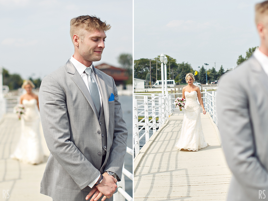 Detroit michigan wedding photographer, Detroit wedding, Rachel smaller photography, roostertail wedding, belle isle