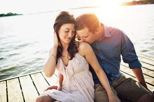 Charley + Ciara | Grass Lake Michigan Engagement | Michigan Wedding Photographer