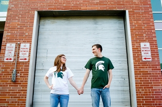 Garrett + Kaitlyn | Michigan State Engagement